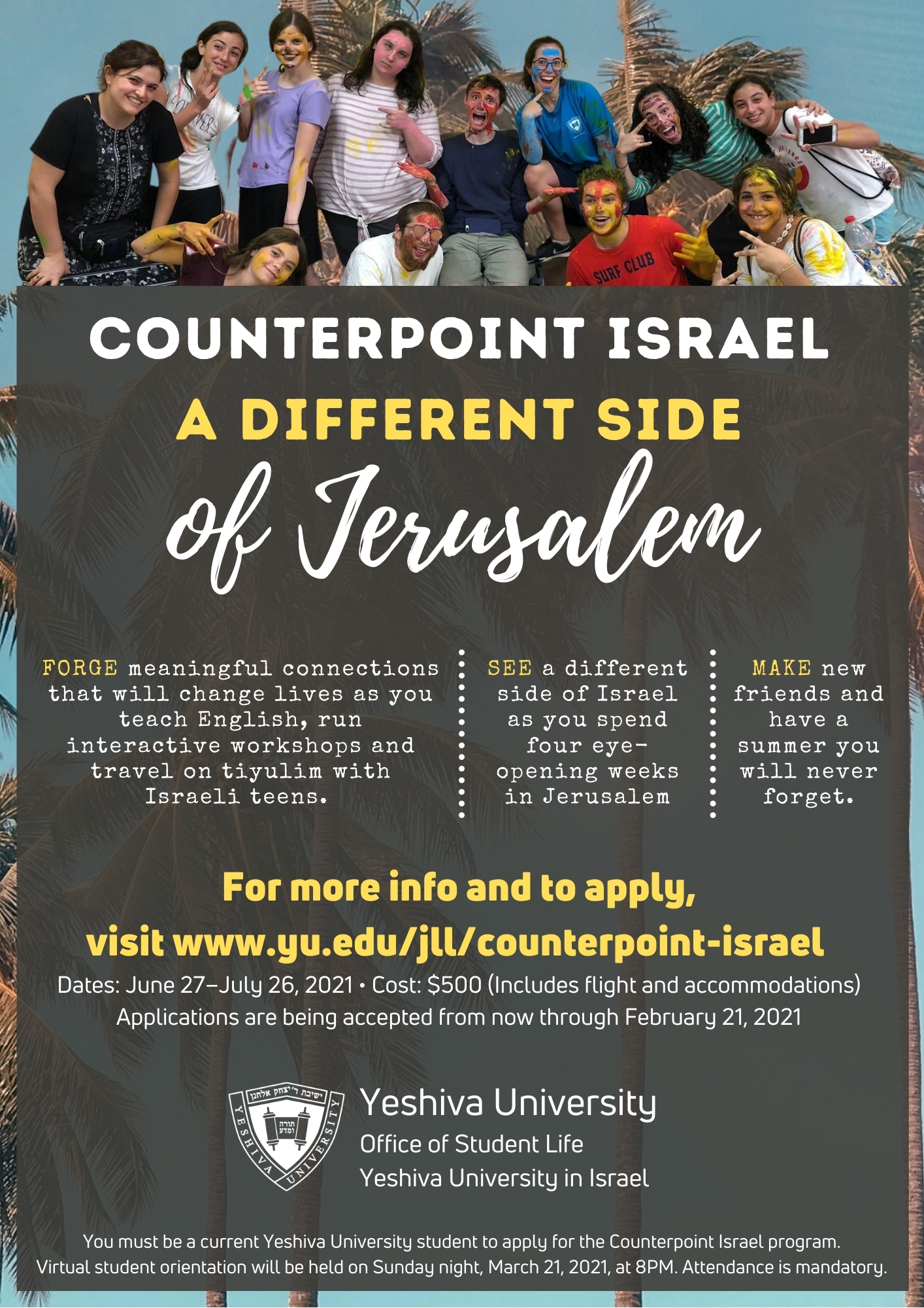 Counterpoint Israel 2021