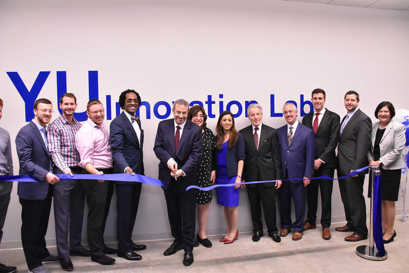 2019 Innovation Lab ribbon cutting
