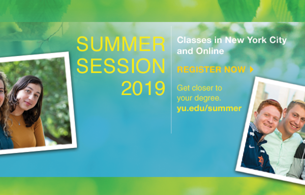 Summer Session - get closer to your degree; classes in New York City and online