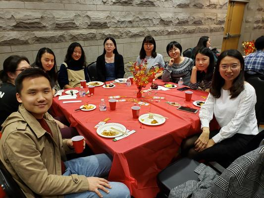 CSU members at the Annual Lunar New Year celebration.
