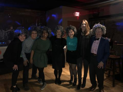 attendants of Dr. Shelly Goldklank's retirement party
